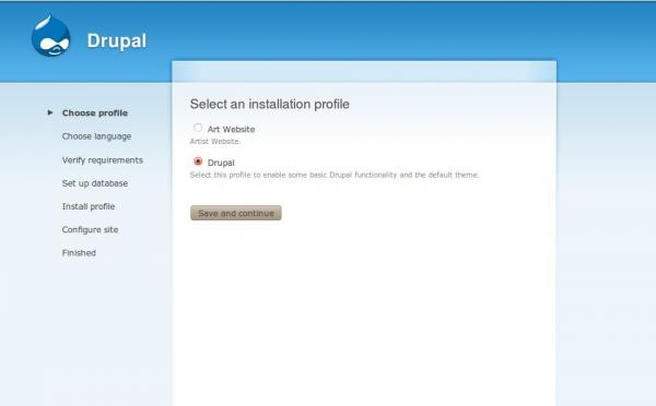 installation profiles automating basic site configuration to speed